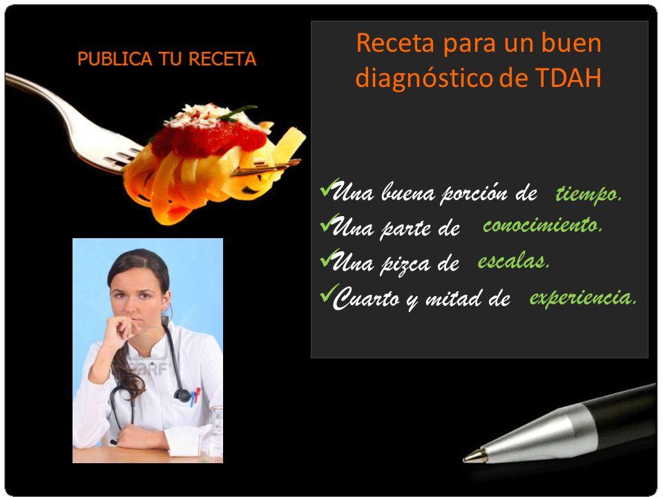 Receta para un buen diagnóstico de TDAH