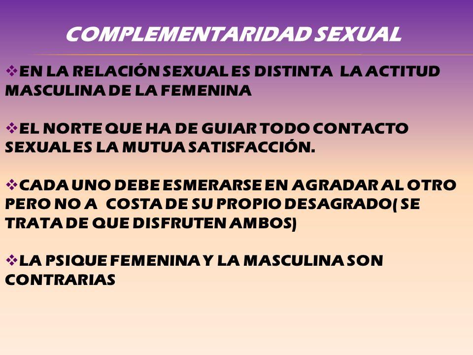 COMPLEMENTARIDAD SEXUAL