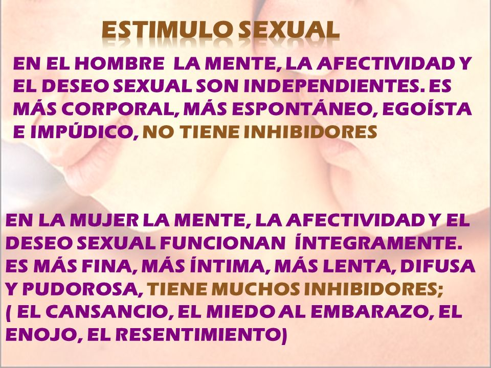 ESTIMULO SEXUAL