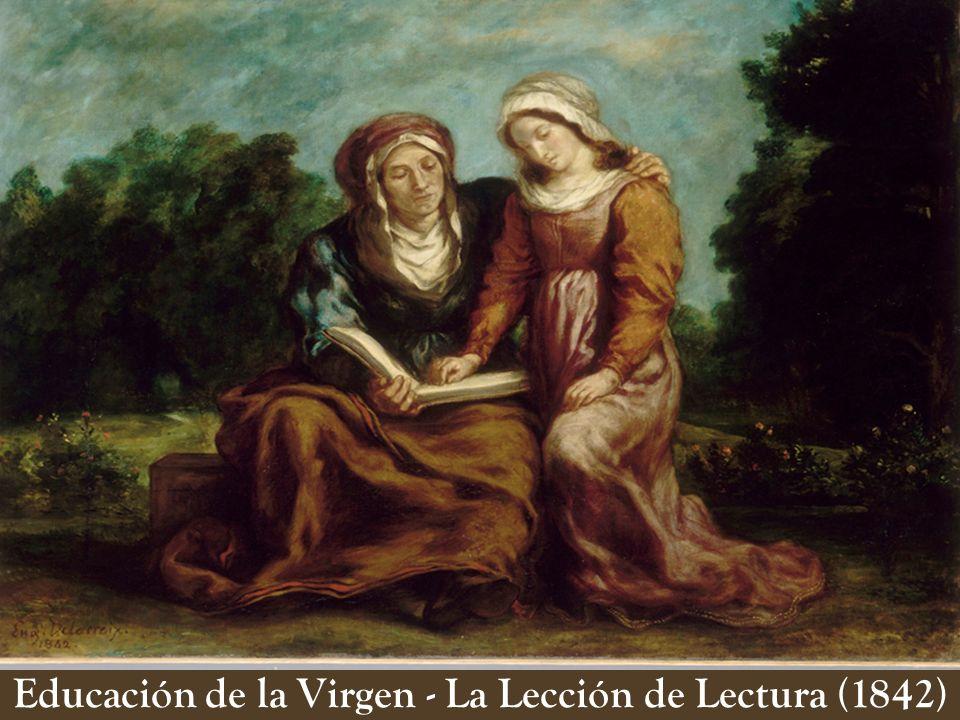 Educación de la Virgen - La Lección de Lectura (1842)