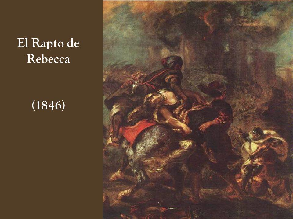El Rapto de Rebecca (1846)