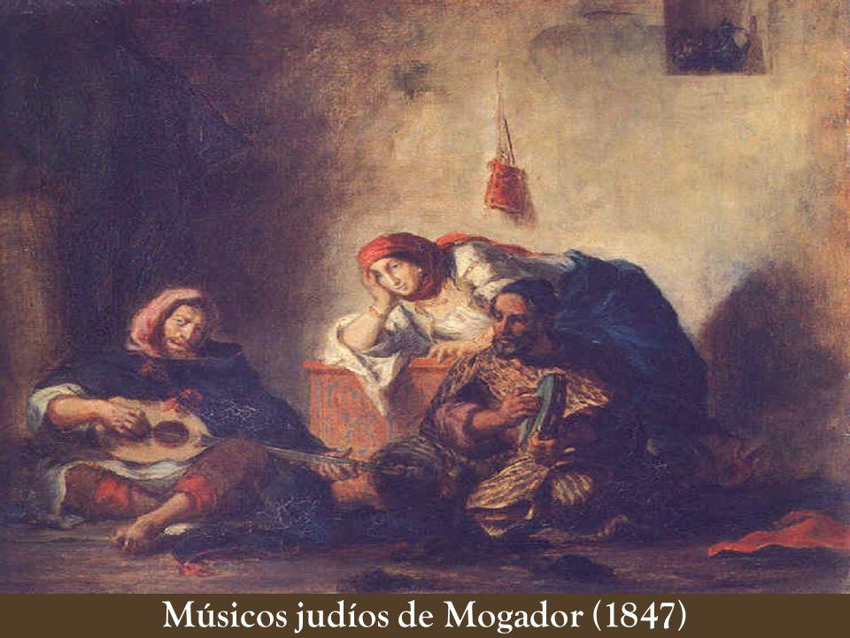 Músicos judíos de Mogador (1847)