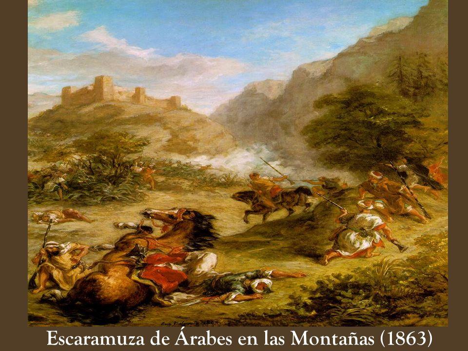 Escaramuza de Árabes en las Montañas (1863)