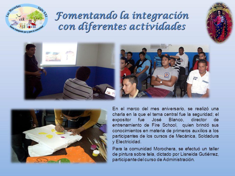 Fomentando la integración con diferentes actividades