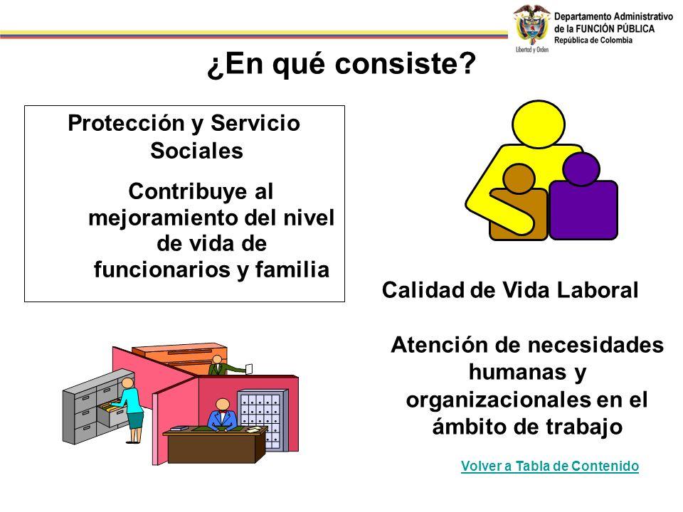 ¿En qué consiste Protección y Servicio Sociales