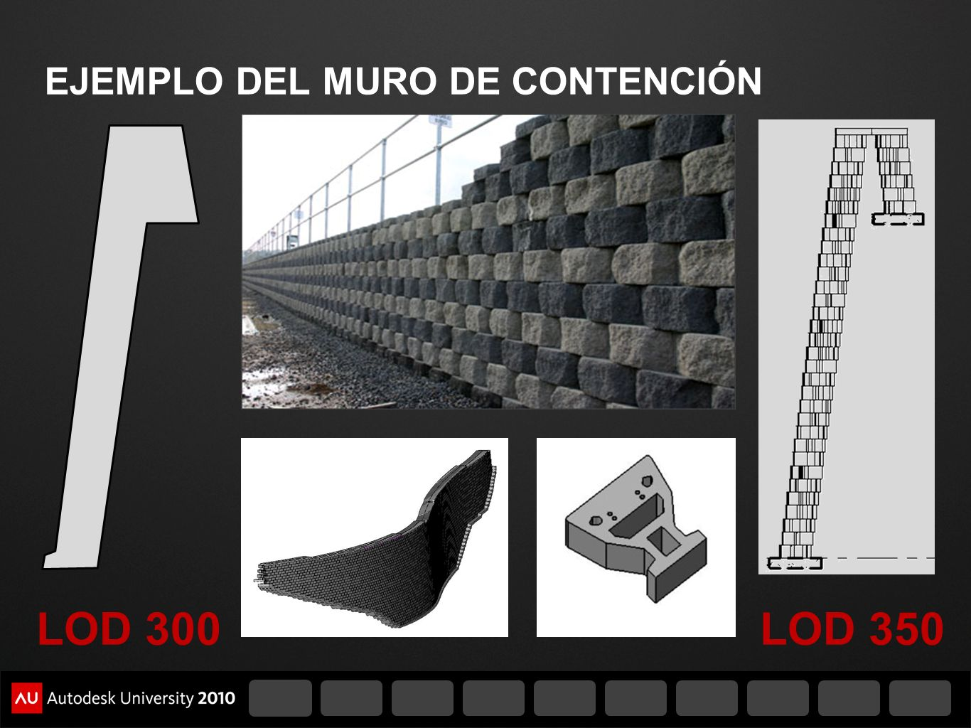 EJEMPLO DEL MURO DE CONTENCIÓN