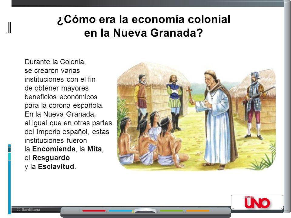 ¿Cómo era la economía colonial