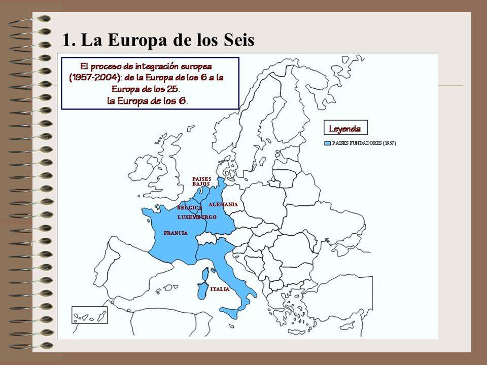1. La Europa de los Seis