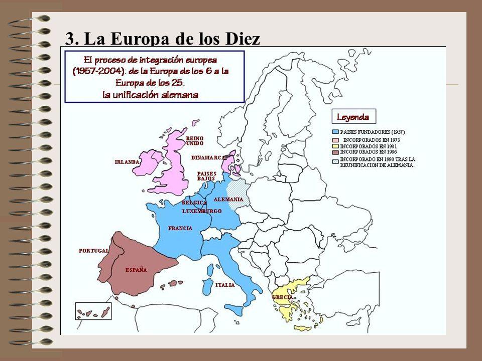 3. La Europa de los Diez