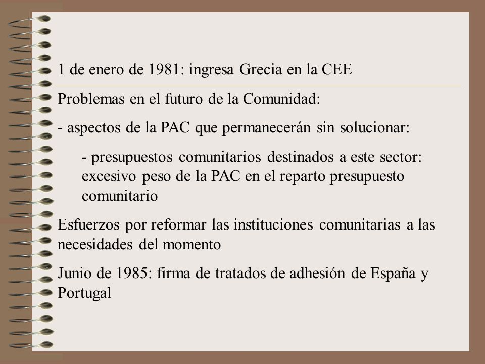 1 de enero de 1981: ingresa Grecia en la CEE