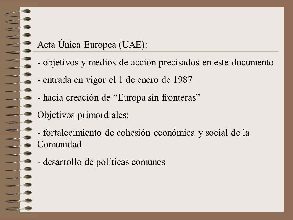 Acta Única Europea (UAE):