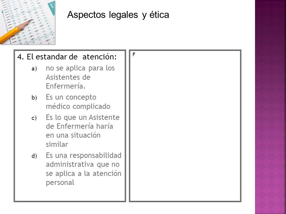 Aspectos legales y ética
