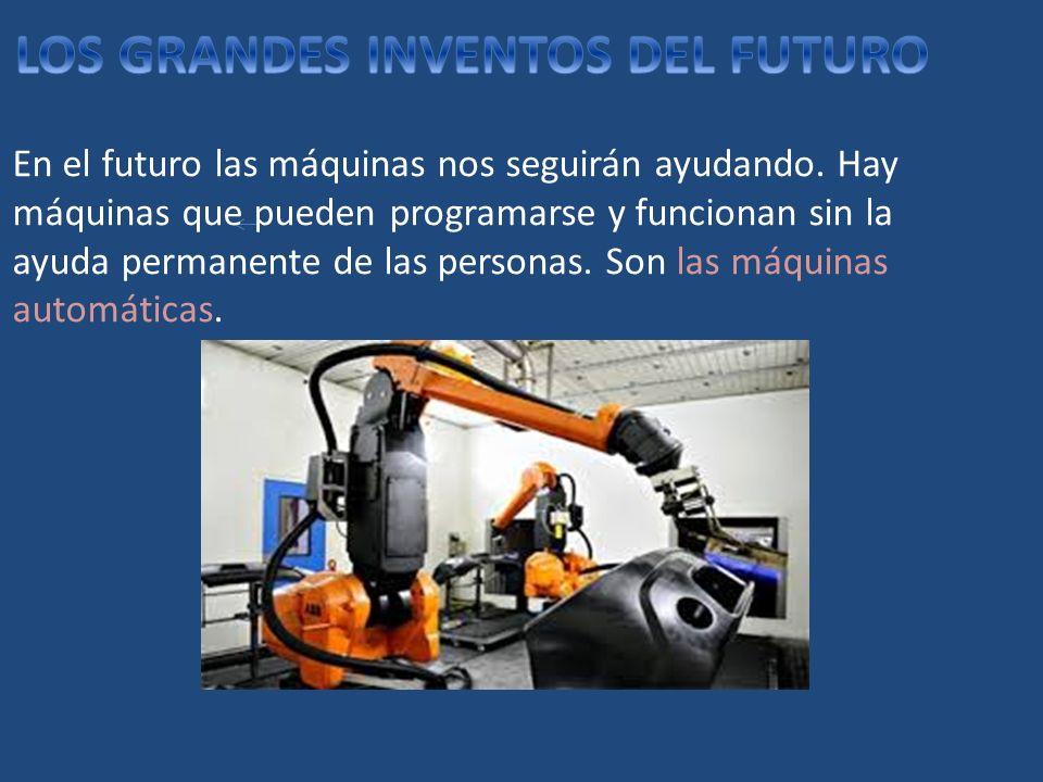 LOS GRANDES INVENTOS DEL FUTURO