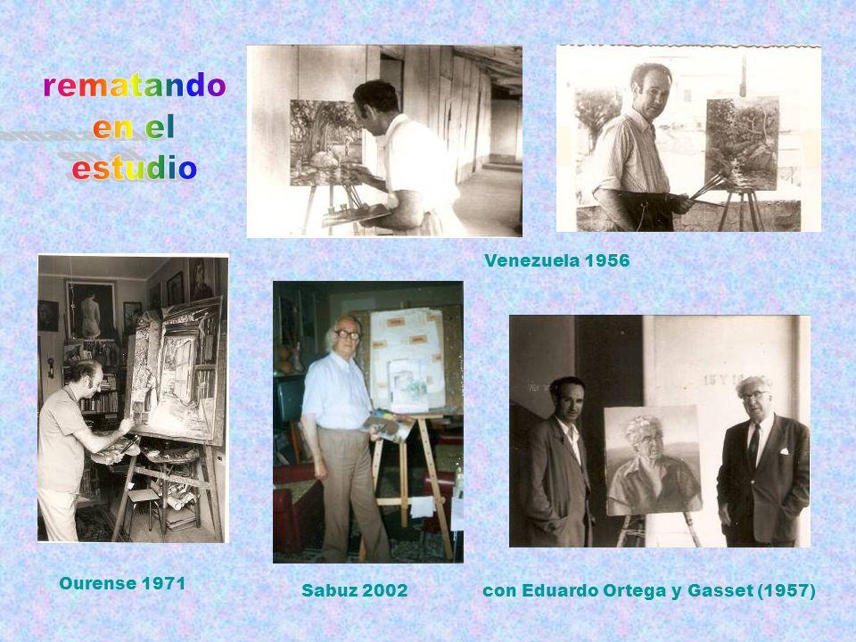 rematando en el estudio Venezuela 1956 Ourense 1971 Sabuz 2002