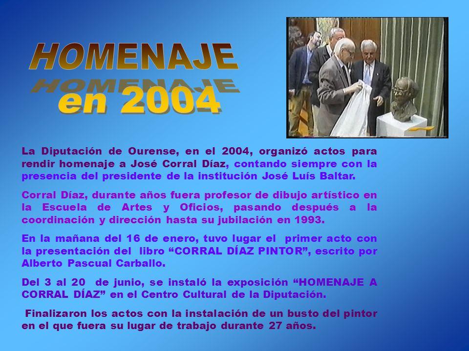 HOMENAJE en 2004.