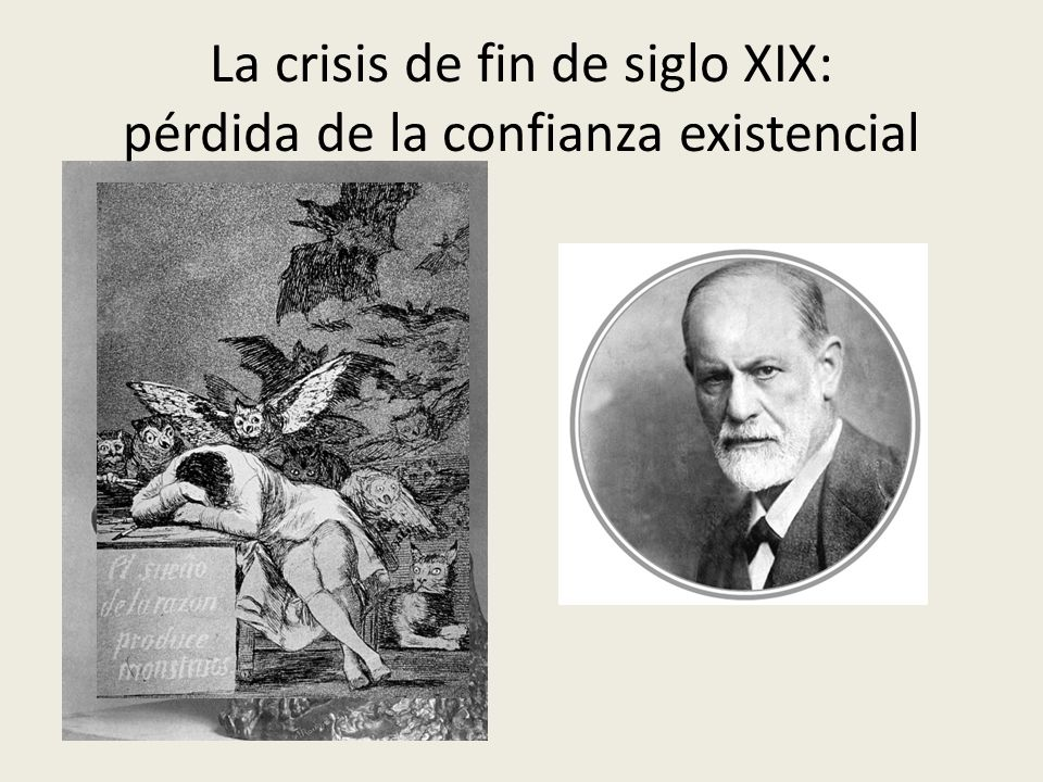 La crisis de fin de siglo XIX: pérdida de la confianza existencial
