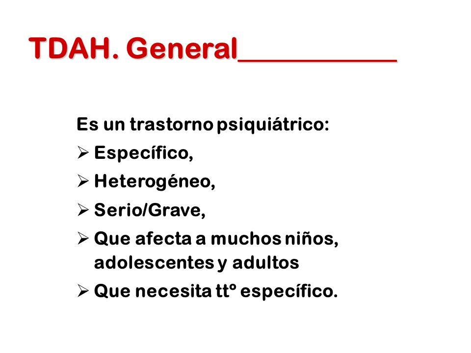TDAH. General___________