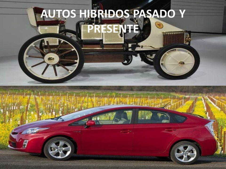AUTOS HIBRIDOS PASADO Y PRESENTE