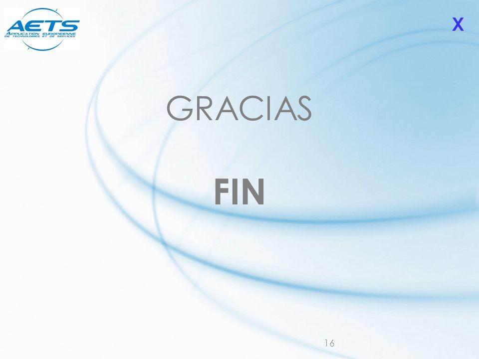 X GRACIAS FIN