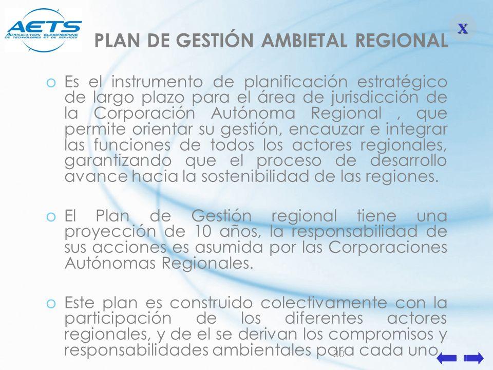 PLAN DE GESTIÓN AMBIETAL REGIONAL