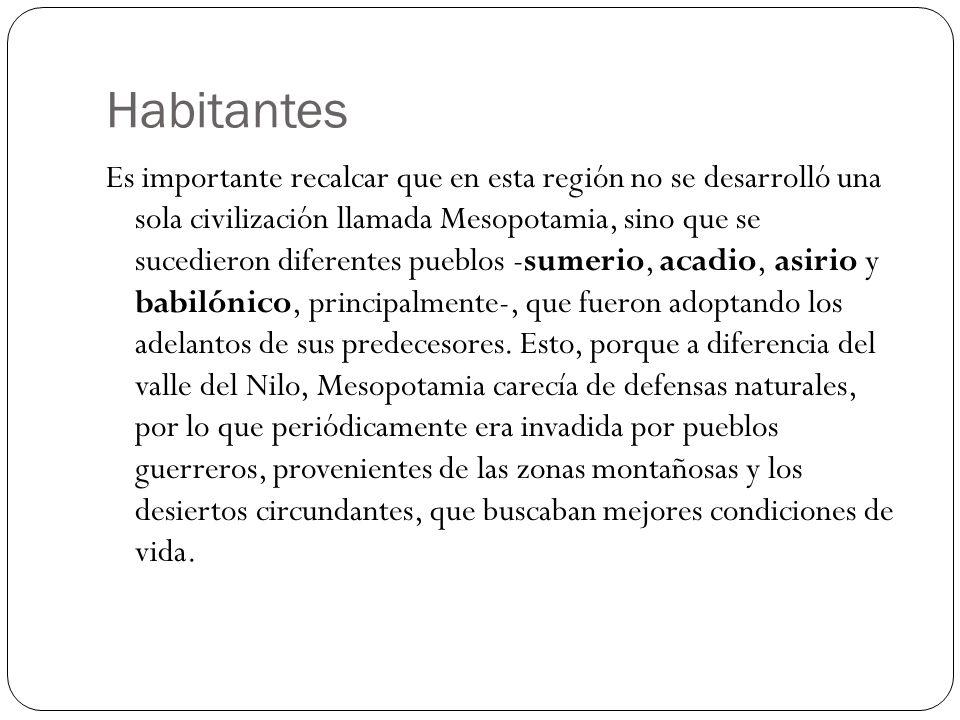 Habitantes