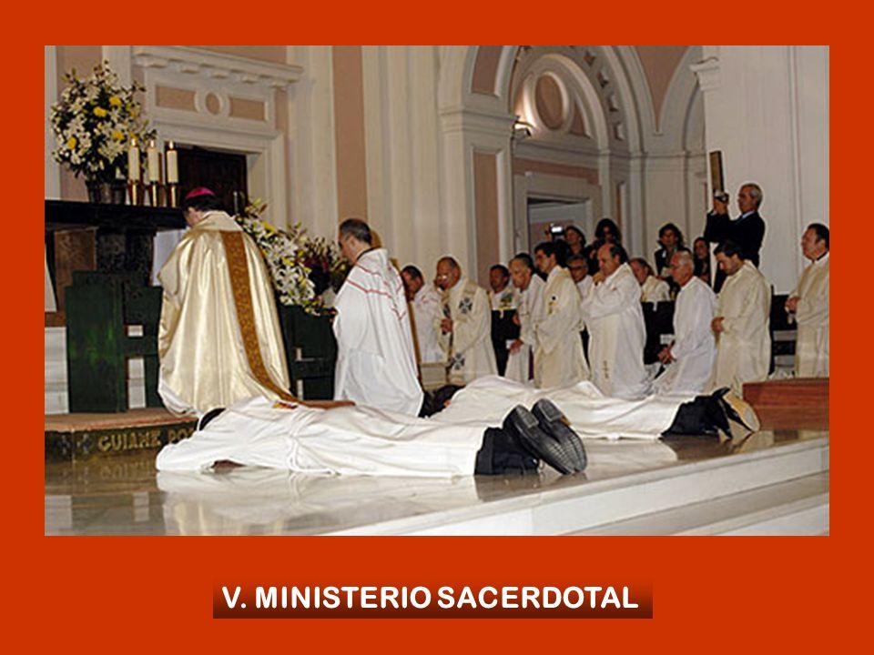 V. MINISTERIO SACERDOTAL