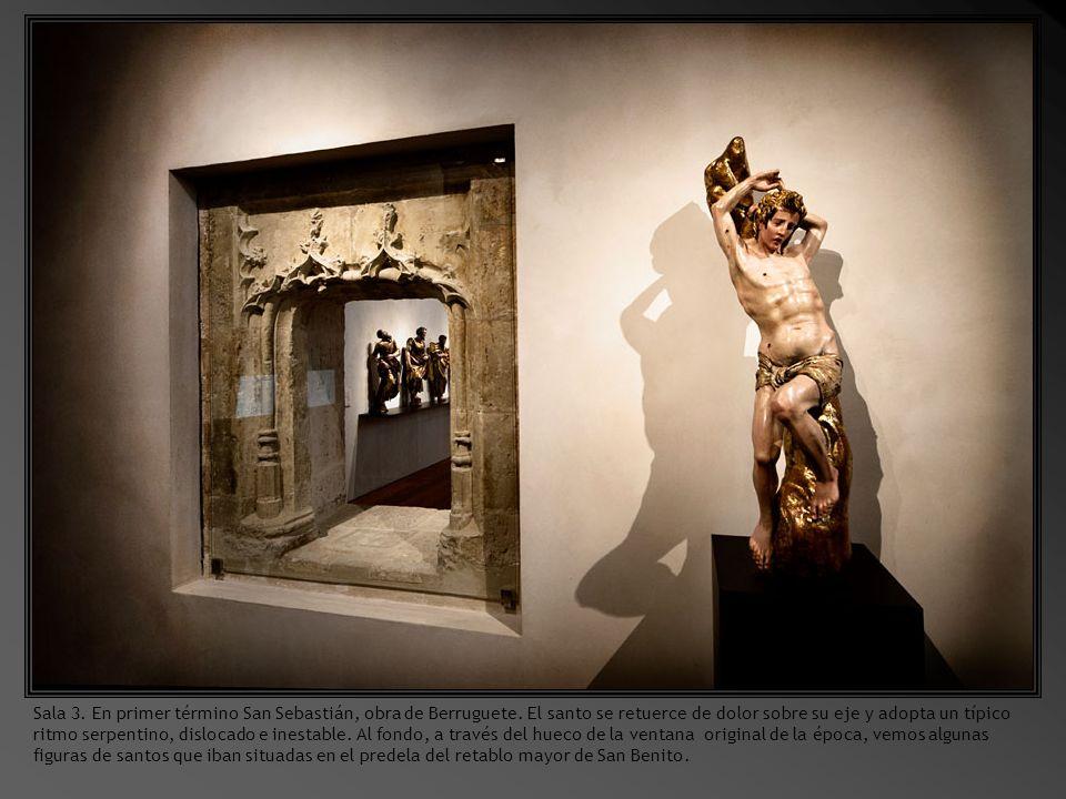 Sala 3. En primer término San Sebastián, obra de Berruguete