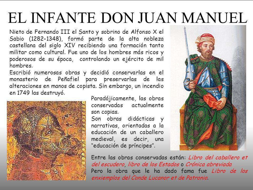 EL INFANTE DON JUAN MANUEL