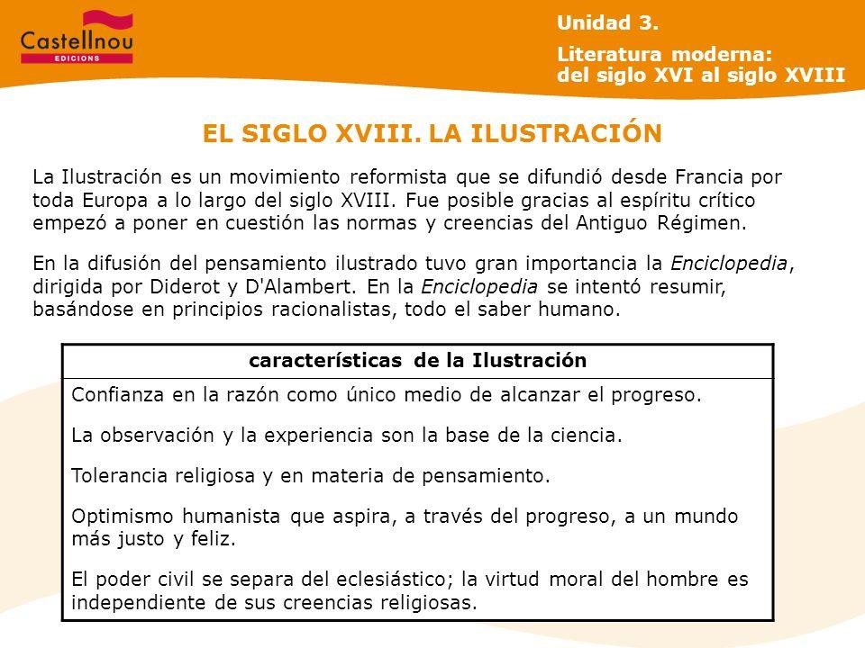 EL SIGLO XVIII. LA ILUSTRACIÓN