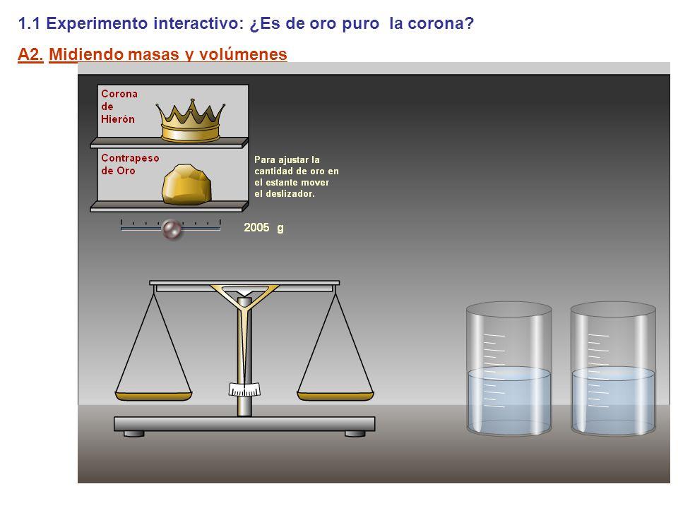 1.1 Experimento interactivo: ¿Es de oro puro la corona