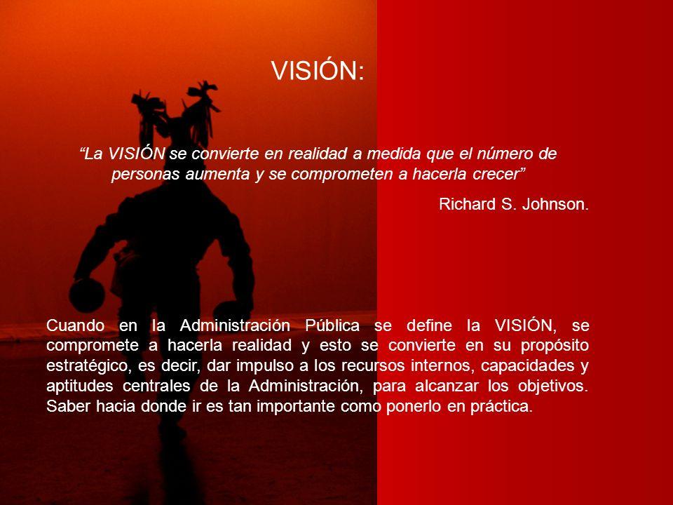 VISIÓN: La VISIÓN se convierte en realidad a medida que el número de personas aumenta y se comprometen a hacerla crecer