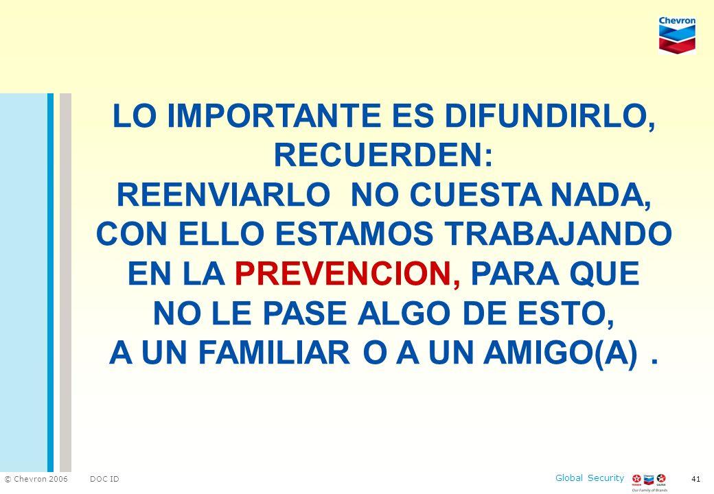 LO IMPORTANTE ES DIFUNDIRLO, RECUERDEN: REENVIARLO NO CUESTA NADA, CON ELLO ESTAMOS TRABAJANDO EN LA PREVENCION, PARA QUE NO LE PASE ALGO DE ESTO, A UN FAMILIAR O A UN AMIGO(A) .