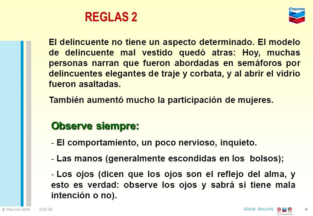 REGLAS 2 Observe siempre: