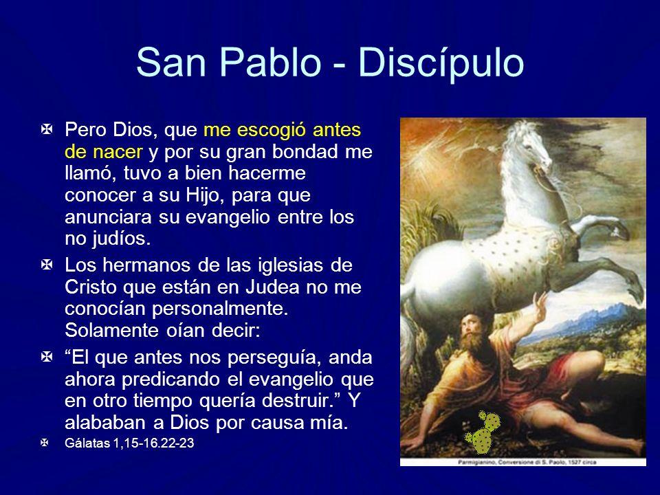 San Pablo - Discípulo