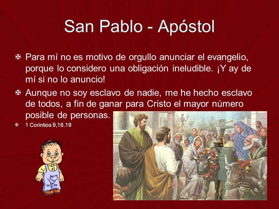San Pablo - Apóstol