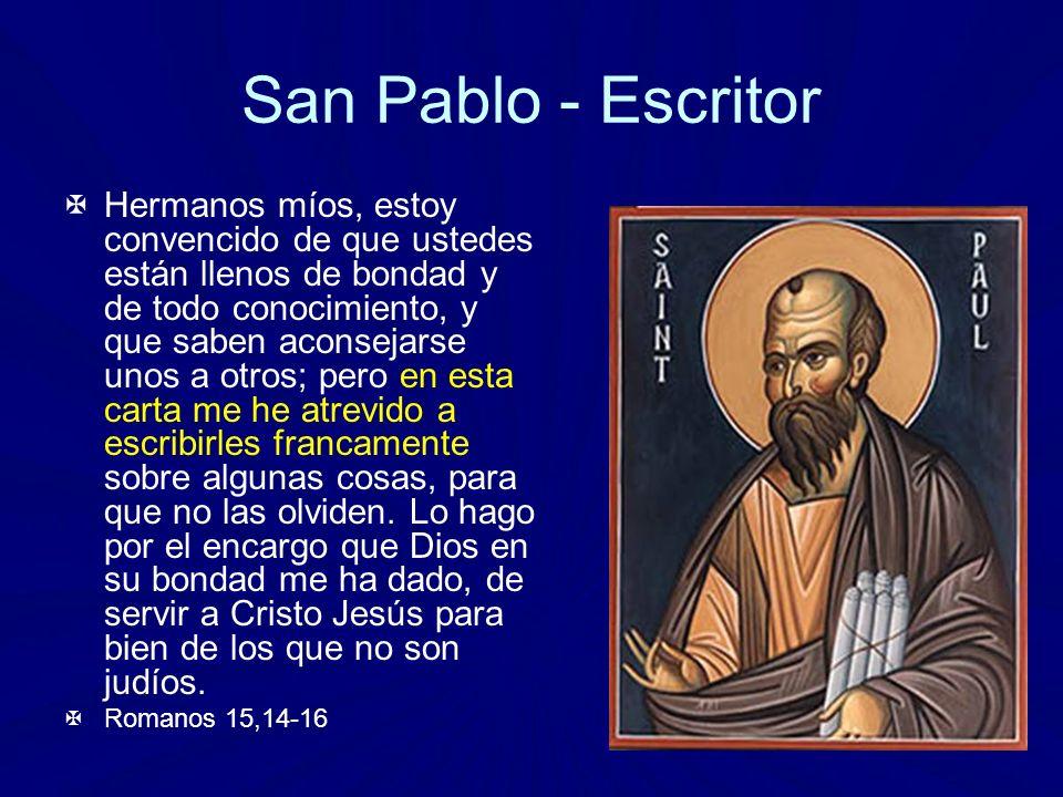 San Pablo - Escritor
