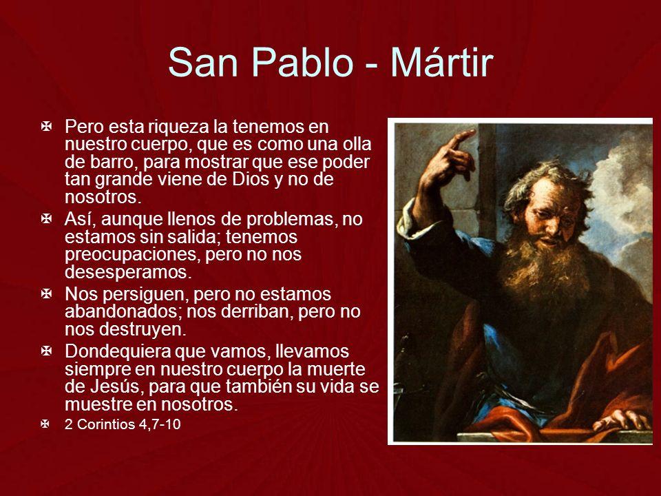 San Pablo - Mártir