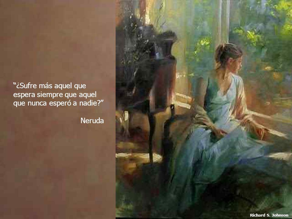 ¿Sufre más aquel que espera siempre que aquel que nunca esperó a nadie