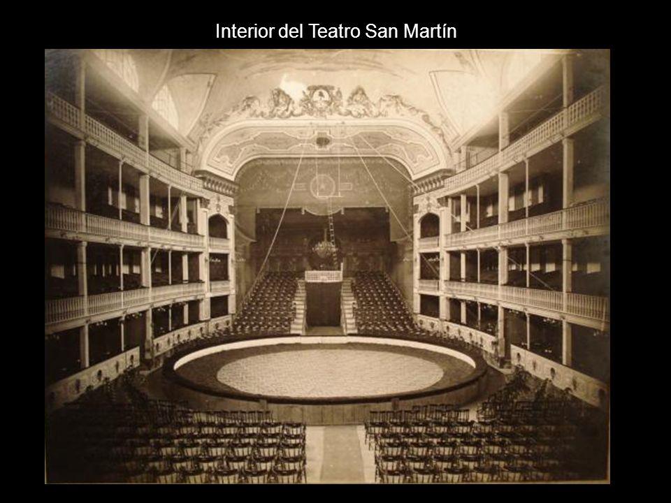 Interior del Teatro San Martín