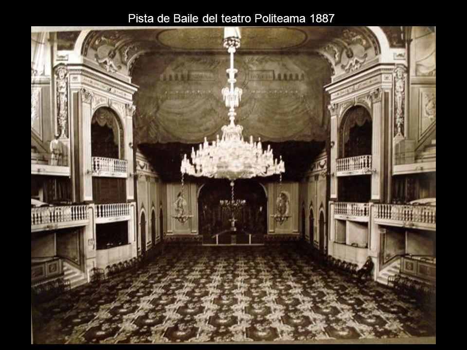 Pista de Baile del teatro Politeama 1887