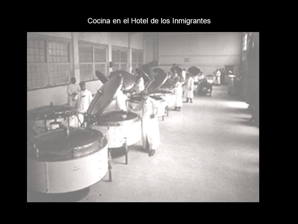 Cocina en el Hotel de los Inmigrantes