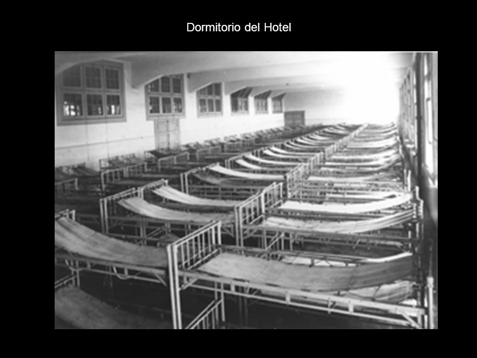 Dormitorio del Hotel