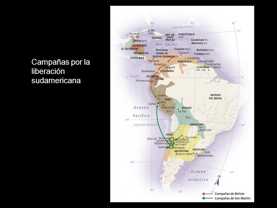 Campañas por la liberación sudamericana