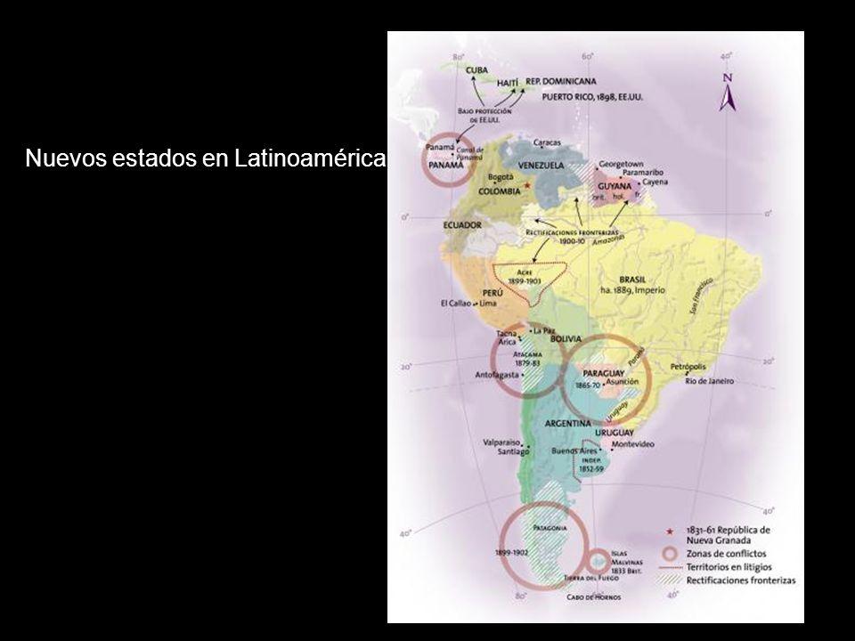 Nuevos estados en Latinoamérica