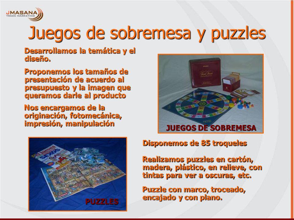 Juegos de sobremesa y puzzles