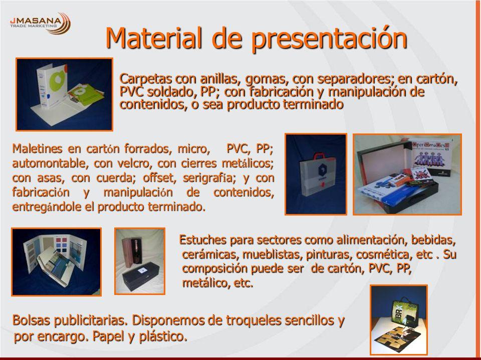 Material de presentación