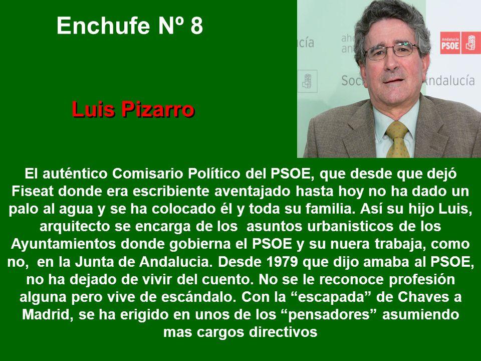 Enchufe Nº 8 Luis Pizarro