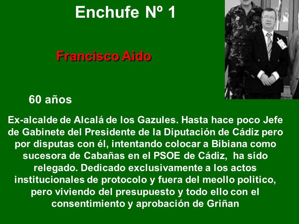 Enchufe Nº 1 Francisco Aido 60 años