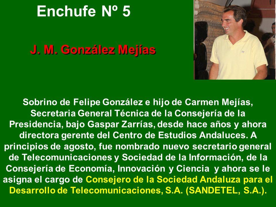 Enchufe Nº 5 J. M. González Mejías