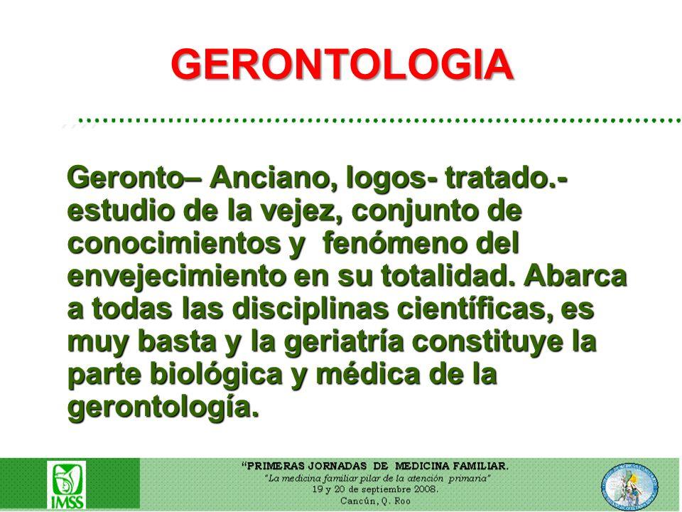 GERONTOLOGIA ´´´´